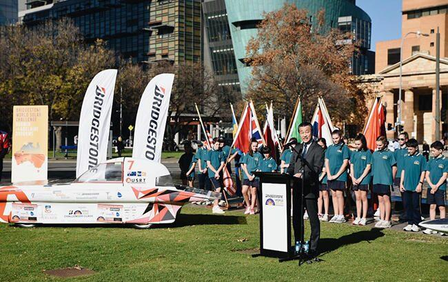 Bridgestone World Solar Challenge 2019